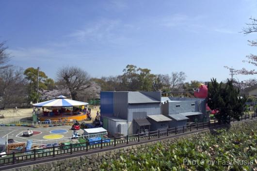 姫路城の遊園地