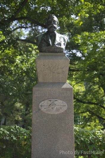 北海道大学のクラーク像
