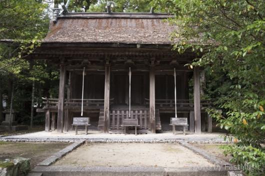 熊野三所大神社の本殿