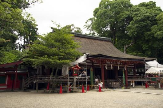 石上神宮の拝殿(奈良県天理市)