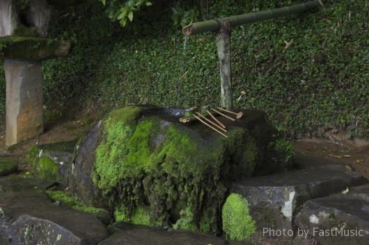 神魂神社の手水舎
