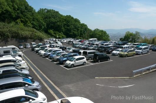 葛城山駐車場