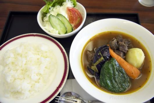 エゾシカカレー(釧路市湿原展望台)