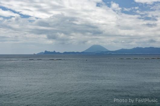 城ヶ崎展望所からの風景