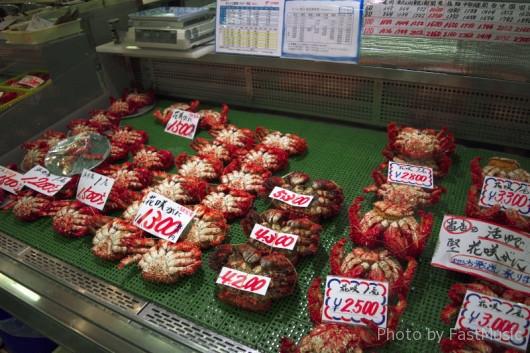 勝手丼で有名な佐藤商店(和商市場)