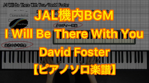 YouTube link for David Foster I Will Be There With You