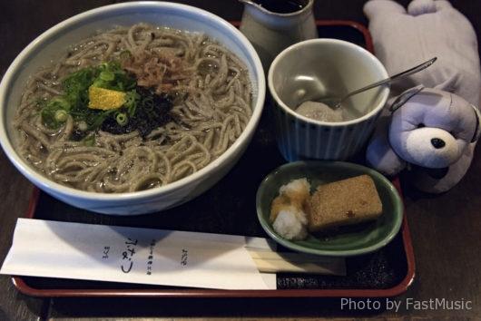 ふなつ(釜揚げ蕎麦)