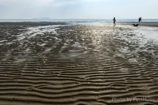 日本のウユニ湖「父母ヶ浜海岸」