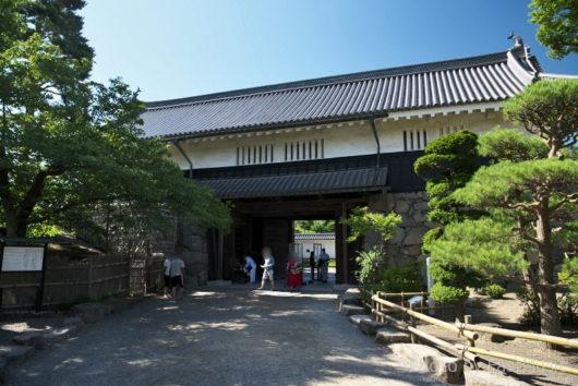 松本城・黒門