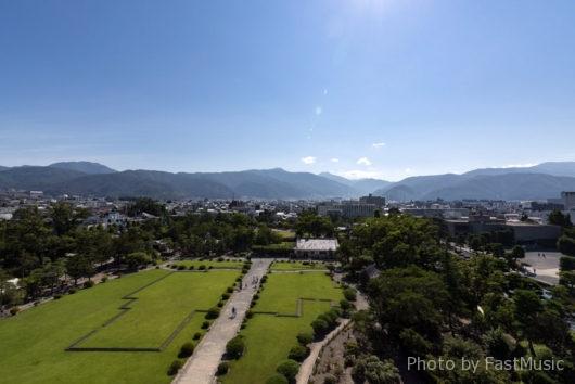 松本城・本丸御殿跡