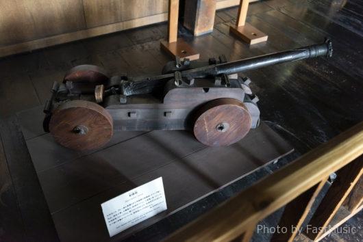 松本城(船載砲)