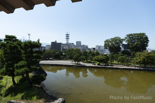 松本城(月見櫓眺望)