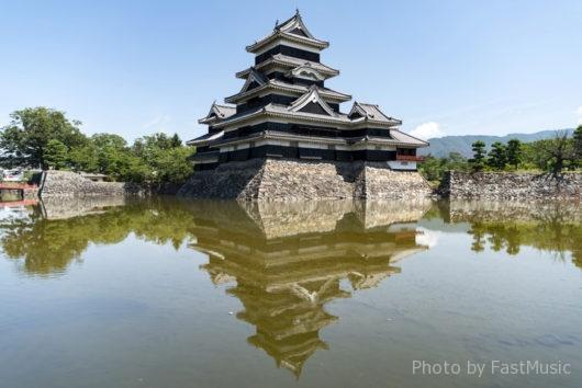 松本城(大天守、乾小天守、渡櫓、辰巳附櫓、月見櫓)