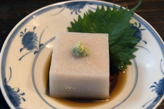蕎麦豆腐(うずら家)