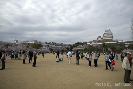姫路城三の丸広場