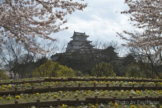 姫路城の裏側