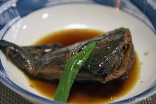 鮭の兜煮(ホテル楠)