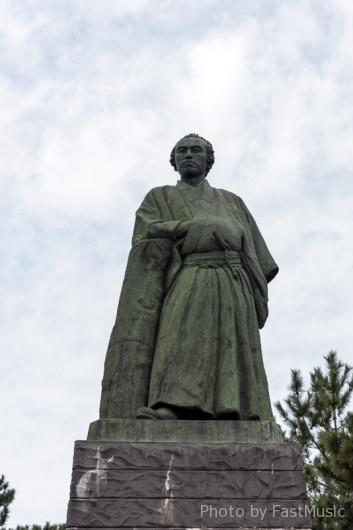 桂浜の龍馬像