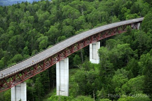 上士幌町「三国峠・松見大橋」
